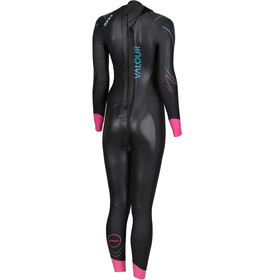 Zone3 Valour Wetsuit Dames, black/pink/peal